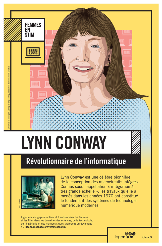 Image Poster Français Lynn Conway