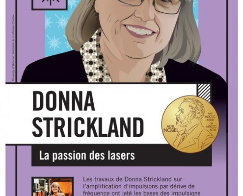 Image Poster Français Donna Strickland
