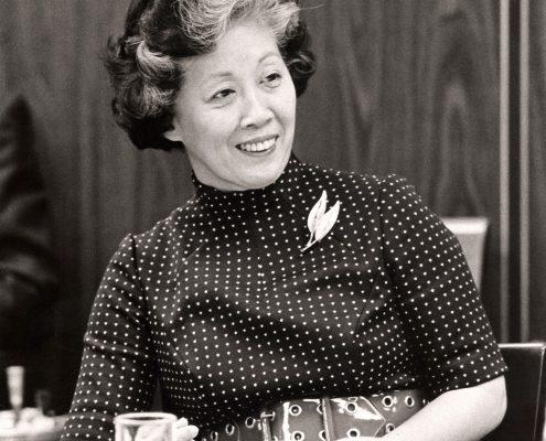 Dr. Irene Uchida,membre du Conseil des Sciences, 1971