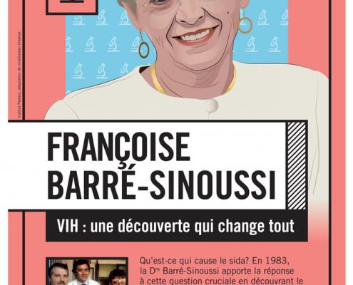 Image Poster Français Françoise Barré-Sinoussi