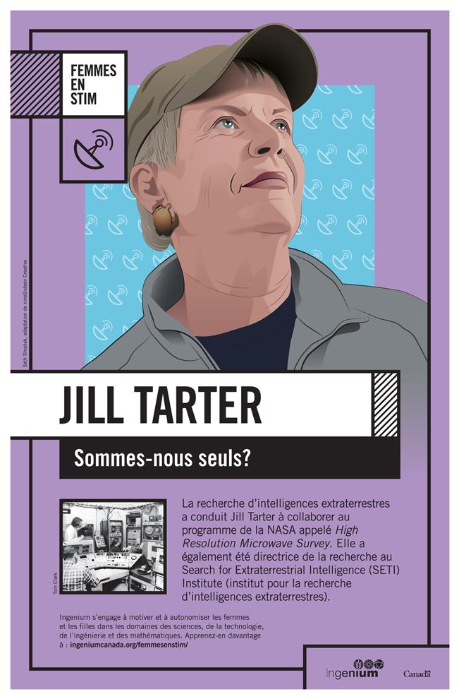 Image Poster Français Jill Tarter