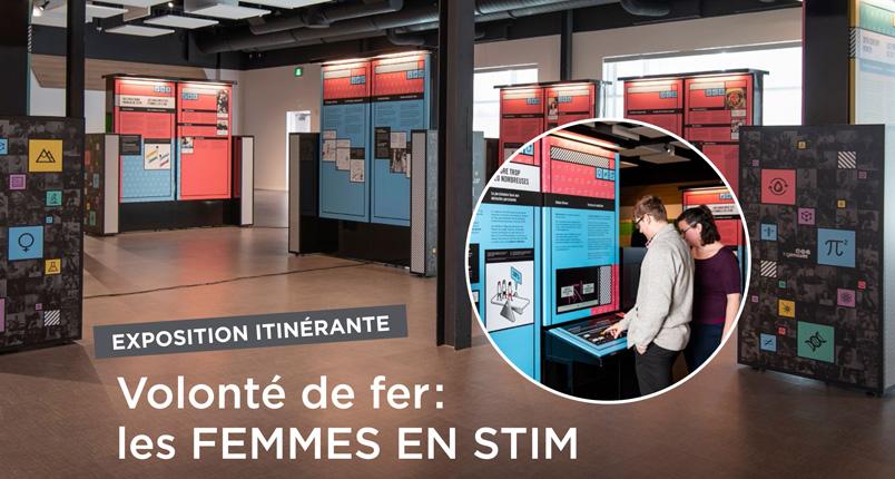 Exposition itinerante Volonté de fer: Femmes en STIM